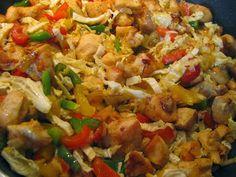 Potrawa z zupek chińskich