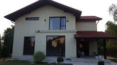 Proiect Casa Rezidentiala Arges – Profile Decorative Home Fashion, Profile, Houses, Exterior, House Design, Windows, Mansions, House Styles, Outdoor Decor