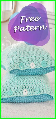 Ocean Front Bed Pillows Crochet Free Pattern, Pillow Crochet Pattern, Cushions Tutorial, Crochet, Pillow Crochet, Crochet Cushions, Free, Pattern, Crochet, Pillow, Cushion, DIY, Crafts, Decor, Handmade, Yarn, Tips, Tutorial, Crocheting #crocheting #crochet #freepattern #crochetpillow