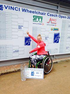 Dubbel kampioen tijdens Czech Open!!! Singel & Dubbel gewonnen!!