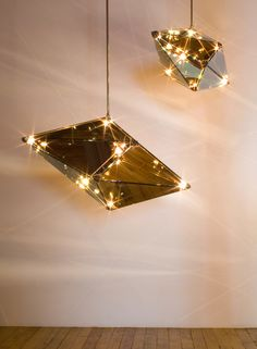 Trapezohedron! When turned off, its mirrored surface gives a mercurial quality…