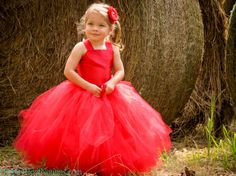 Classic RED Pixie tutu dress ..Flower Girl Dress..Vintage Photography Prop on Etsy, $65.00