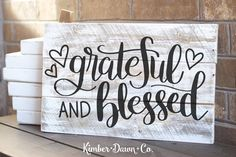 Hand Lettered Grateful and Blessed Free SVG Cut File Hand Lettered Grateful and Blessed Free SVG Cut File   Who's ready for some Thanksgiving crafting?! We sure are. Not to mention &#822…