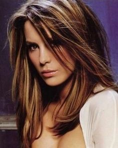 Brown Hair Color Caramel Highlights Chestnut Brown Hair Color With ...