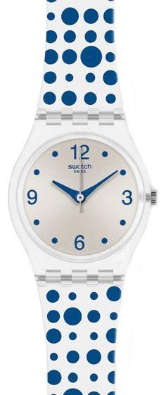 $52 Swatch Watches - Blue Darling Ladies watch