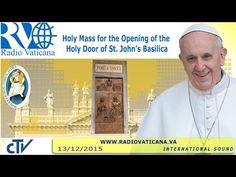 EN DIRECTO: El Papa abre Puerta Santa de la Basílica de San Juan de Letrán