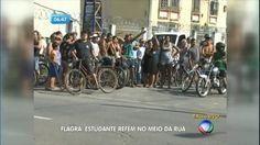 Após roubo, ladrão faz estudante refém no meio da rua no Pará