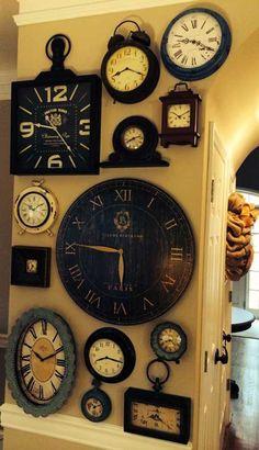 17.Duvar Saatleri Modeli