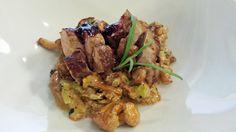 Indrefilet av lam med kantarellstuing Frisk, Kung Pao Chicken, Ethnic Recipes, Food, Essen, Meals, Yemek, Eten