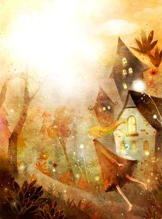 Kim Yoon Hee art illustration