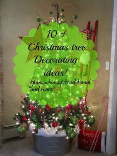 Christmas tree decorating ideas - Debbiedoo's