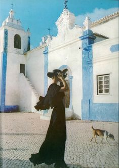 Portugal, vintage vogue editorial