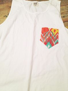 Monogram Pocket Tank.