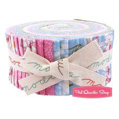 Sakura Park Jelly Roll Sentimental Studios for Moda Fabrics - Fat Quarter Shop...Need 2