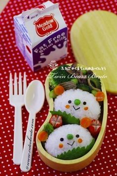 I must have a go at making bento-boxes for the kids instead of sandwiches!