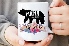 Mama Bear Mug womansday