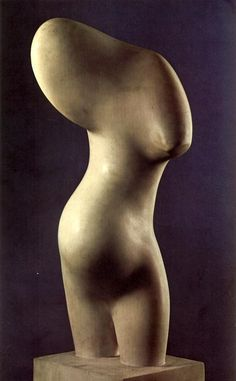 Female Bust, 1953 - Jean Arp