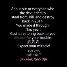 Recieve it!