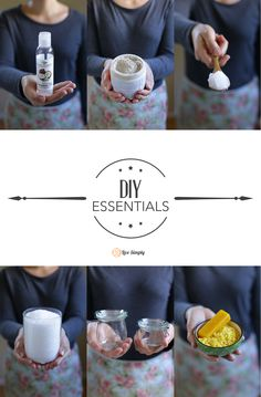 The ultimate list of everything you need to make natural DIYs for the home, body, and cleaning! Love this page.