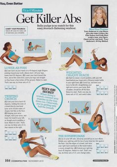 Tracy Anderson method for killer abs