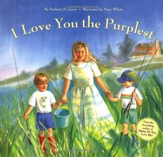 I Love You the Purplest by Barbara M. Joosse http://www.amazon.com/dp/0811807185/ref=cm_sw_r_pi_dp_.YJ0vb0XYWJN5