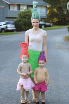 watch out for the woestmans: Troll Costume