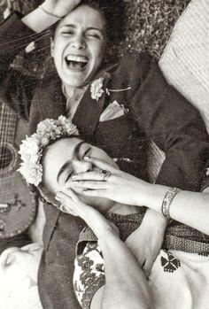 Illustration parfaite du bonheur #158 (Frida Kahlo & Chavela Vargas)