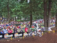 WASHOUGAL MX Park..........can't wait to get up close with that red dirt AGAIN! braaaaaaaap