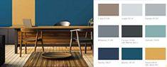 ¿Cómo decorar mi casa? | Comex Table, Furniture, Home Decor, Interior Paint, Home Decorations, Best Color Combinations, Color Trends, Homes, Decoration Home