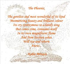 picture quotes about the phenoix | The Phoenix | KAHIT MINSAN