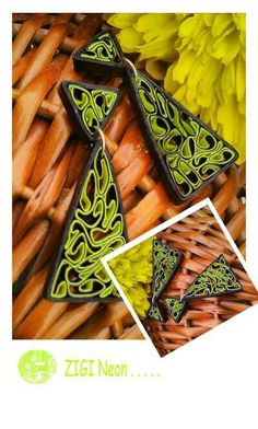 12 Awesome Paper Quilling Jewelry Designs To Start Today – Quilling Techniques Paper Quilling Earrings, Quilling Craft, Quilling Patterns, Quilling Designs, Quilling Ideas, Paper Jewelry, Paper Beads, Polymer Clay Jewelry, Bell Paper