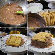 receta de torta de galletas de champaña