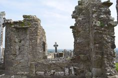 """Part of the massive ruins at """"The Hill of Slane"""" This is a special place for me and I visit it everytime I go to Ireland.. Located just outside Slane, Co Meath, Ireland"""