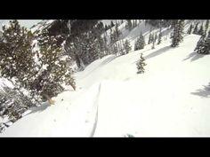 Splitboarding: December Pillow Popping - YouTube