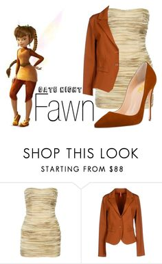 """Fawn~ DisneyBound"" by basic-disney ❤ liked on Polyvore featuring Balmain and Imperial"