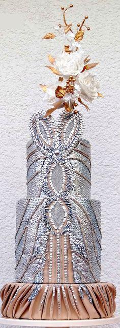 Zuhair Murad Fashion Collaboration Cake