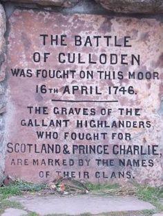Inscription sur la bataille de Culloden Memorial Cairn- cela est dans la série 8 du livre de Diana Gabaldon, un 1er appelé l'Outlander. Il est une série très intéressante, ne peut pas attendre la dernière fin dernière en raison de l'année 2012. par Jeri