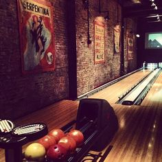 Brooklyn Bowl: If you can get a lane, this is one of the most ideal places to kick-off a night out