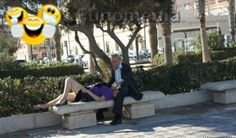 funny people - old kazanova and his latest fan #old #love #flirt #aged #man #youth #awesome #humor #intresting - Funomenia