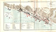 FIUME, RIJEKA and its port antique map from 1894 CHECK the pictures by OjiochaPrints on Etsy Owl Print, Antique Maps, Vintage Items, Antiques, Frame, Illustration, Check, Prints, Pictures