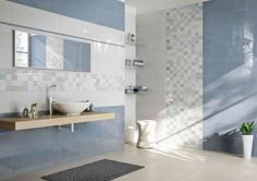 Thanks to the elegance of the colours and the beauty of the decoration, Design Collection allows the creation of original solutions that will surprise you. Downstairs Bathroom, Bathroom Layout, Modern Bathroom Design, Bathroom Interior Design, Master Bathroom, Bad Inspiration, Bathroom Inspiration, Natural Interior, Toilet Design