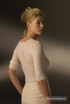 Rosamund Pike-Would make a great Diana Bishop. -All Souls Trilogy - if and when they make a actual movie of the three books.