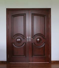 these double doors will be perfect for the closet!