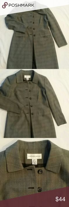 Jones New York Suit Long Blazer Almost new long blazer, very nice make me an offer Jones New York Jackets & Coats Blazers