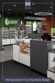 We create custom store designs at stock fixture pricing. We take your store floor plan, design a full color store rendering like the pin images. Then quote and manufacturer your unique store, it's easy! Drop us a email and we will get in contact with you. Visit our dedicated sites: bolddisplaycbd.com bolddisplayvape.com #storedesign #retailstoredesign #Vapestoredesign #instoredesign #storelayout #retailstoreinterior #wellnessstoredesign #storefixturedisplays Vape Store Design, Retail Store Design, Store Layout, Plan Design, Pin Image, Floor Plans, Wellness, Quote, Drop