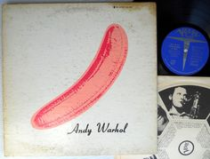 THE VELVET UNDERGROUND & NICO Produced by ANDY WARHOL 2nd edition LP C #ExperimentalRockGarageRock