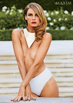 Interview: Maxim October Cover Girl Angela Lindvall