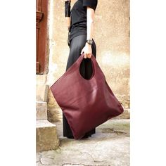 Leather Toms, Longchamp, Tote Bag, Polyvore, Bags, Fashion, Handbags, Moda, Fashion Styles