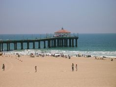Growing up at the beach. This was my back yard - Weekends at Manhattan Beach