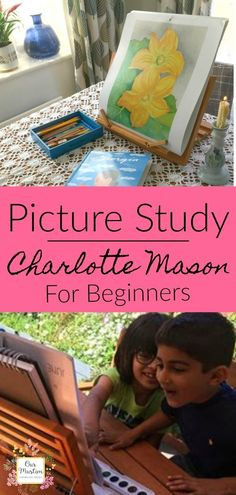 How to do Picture Study Lessons in your Homeschool How to do a Charlotte Mason Picture Study Lesson and Video of a lesson in action! This guide is ideal for beginners to the Charlotte Mason method of homeschooling – What is Picture study? Homeschool Curriculum, Homeschooling Resources, Homeschool Worksheets, Montessori Homeschool, Wie Macht Man, Charlotte Mason, Nature Study, Home Schooling, Art Studies